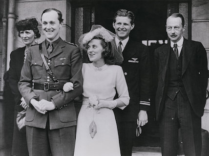 Wedding of William Cavendish, Marquess of Hartington and Kathleen (née Kennedy), Marchioness of Hartington