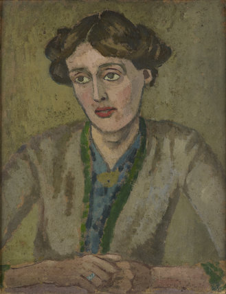Virginia Woolf by Roger Fry, 1911-12(Private Collection) Virginia Woolf: Art, Life and Vision, 10 July - 26 October 2014