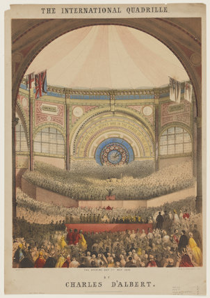 The International Exhibition, 1862 ('The International Quadrille')