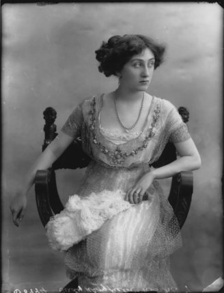 Probably Lady Violet Nita Wingfield (née Poulett)