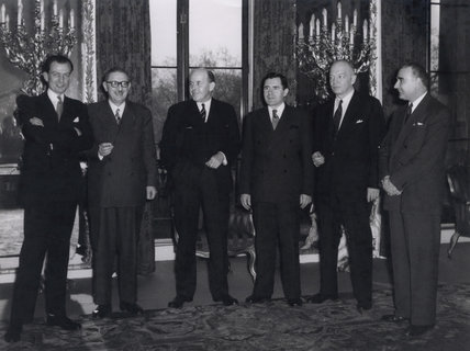 Main delegates of the United Nations Disarmament Sub-Committee