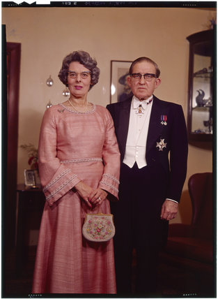 Sir Alan Cumbrae Rose McLeod and Noreen Egremont (née King), Lady McLeod