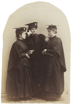 'Three Cousins at Bryn Mawr' (Grace Worthington (née Thomas); Alys Whitall Russell (née Pearsall Smith); Madge Whitall)