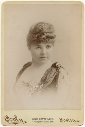 Letty Lind (Letitia Elizabeth Rudge)