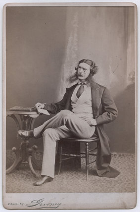 Edward Askew Sothern as Lord Dundreary in 'Our American Cousin'