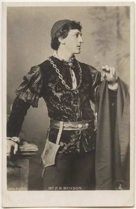 Frank Benson as 'Romeo' in 'Romeo and Juliet'