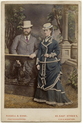 King Edward VII; Queen Alexandra
