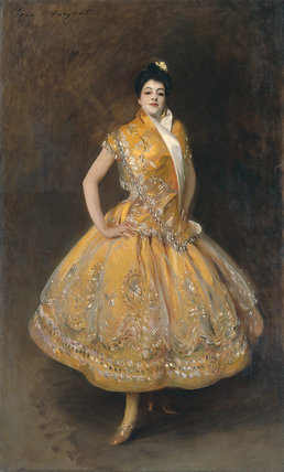 La Carmencita by John Singer Sargent (Paris, musée d'Orsay) Sargent: Portraits of Artists and Friends at the National Portrait Gallery, London,12 February - 25 May 2015