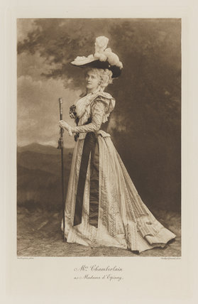 Mary Endicott Carnegie (née Endicott) (formerly Chamberlain) as Madame d'Epinay
