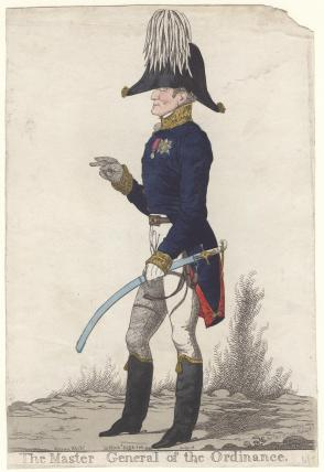 Arthur Wellesley, 1st Duke of Wellington ('The Master General of the Ordinance')