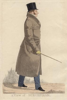 John Fane, 11th Earl of Westmorland ('A view of Burghersh')