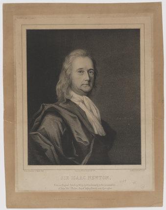 Sir Isaac Newton by George B. Black at Art on Demand Portraits