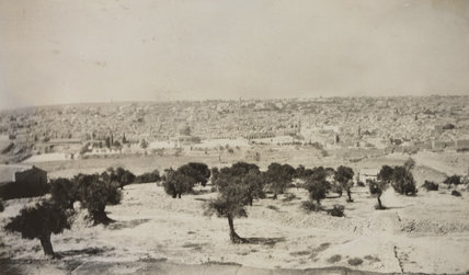 'Jerusalem from the Mount of Olives'