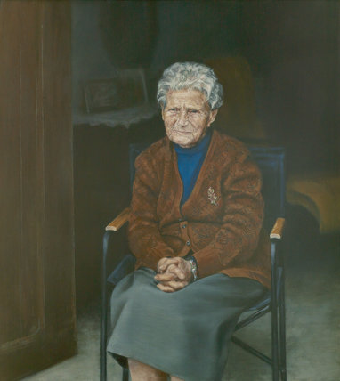 Granny (96). Time together before she left. by Jose Antonio Ochoa Calzada