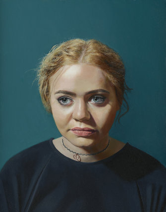 Portrait of a girl (Becky) by Simon Thomas Braiden