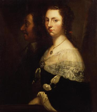 Unknown man and woman, formerly known as Oliver Cromwell and his daughter