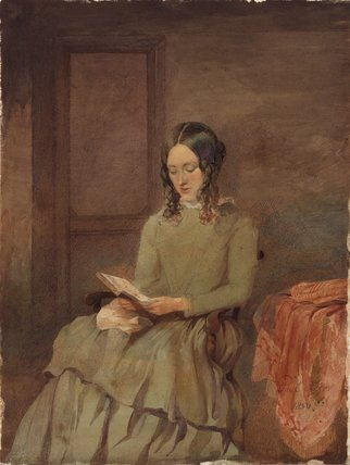 Unknown woman, formerly known as Charlotte Brontë
