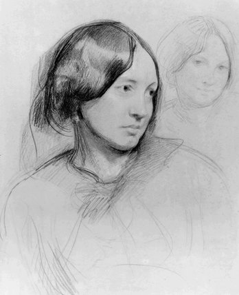 Unknown woman, formerly known as George Eliot (Mary Ann Cross (née Evans))