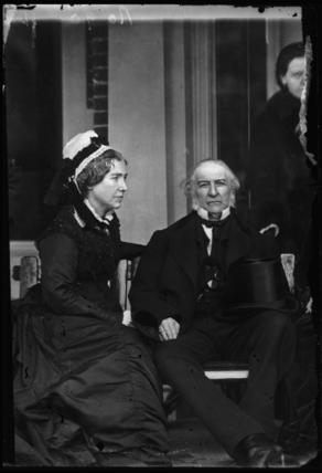 Catherine Gladstone (née Glynne); William Ewart Gladstone