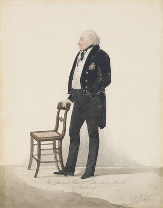 Sir James Steuart Denham, 8th Bt
