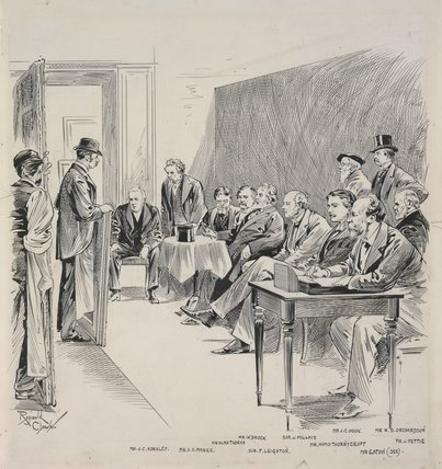 Selecting Committee, Royal Academy, circa 1892