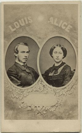 Louis IV, Grand Duke of Hesse and by Rhine; Princess Alice, Grand Duchess of Hesse