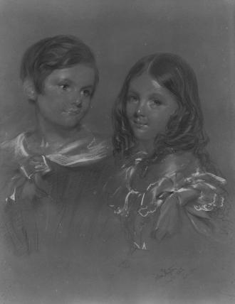 Edward Denison; Louisa Evelyn Denison
