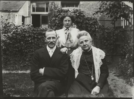 Albert Edward Broom; Winifred Margaret Broom and an unknown woman