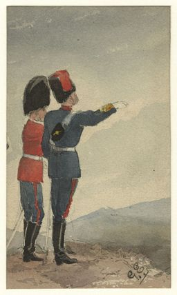 Unknown guardsman and liveryman
