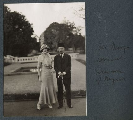 Lady Ottoline Morrell; Sir Mirza Muhammad Ismail