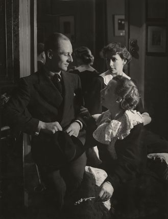 John Gielgud; Dame Edith Evans; Dame Peggy Ashcroft in 'The Seagull'