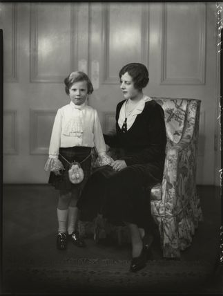 Countess of Northesk and son