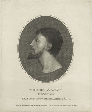 Sir Thomas Wyatt ('the Younger')