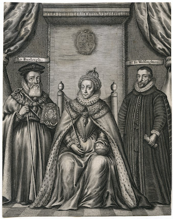 Queen Elizabeth I, William Cecil, 1st Baron Burghley, Sir Francis Walsingham
