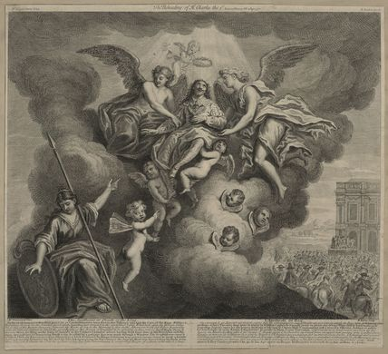 'The Apotheosis, or, Death of the King' ('The Beheading of King Charles I')