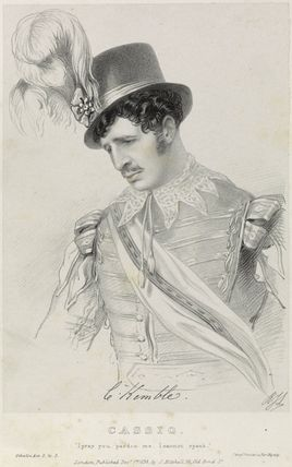 Charles Kemble as Cassio in 'Othello'