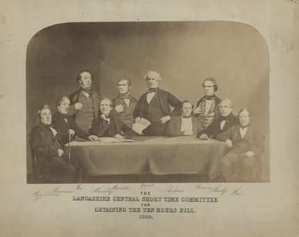 'The Lancashire Central Short Time Committee for Obtaining the Ten Hours Bill, 1850'