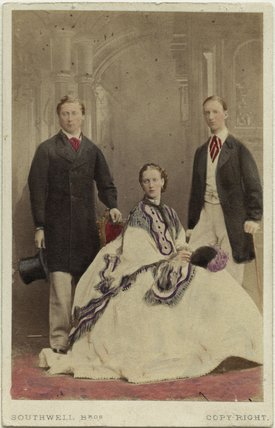 King Edward VII; Queen Alexandra; George I, King of Greece