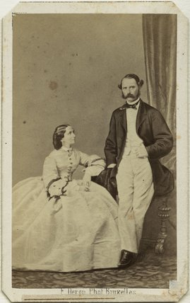 Louise, Queen of Denmark; Christian IX, King of Denmark