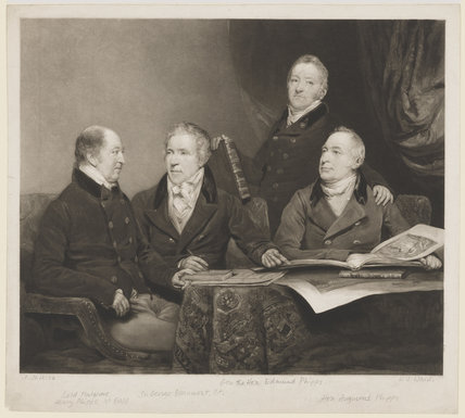 Henry Phipps, Viscount Normanby and Earl of Mulgrave; Sir George Howland Beaumont, 7th Bt; Edmund Phipps; Augustus Phipps