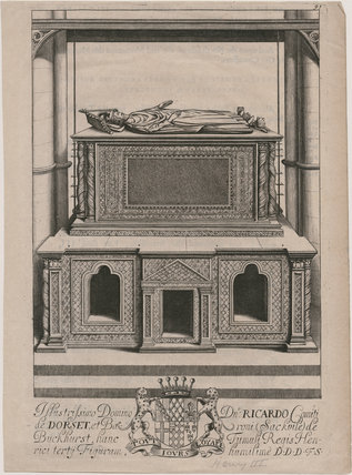 King Henry III's tomb in Westminster Abbey