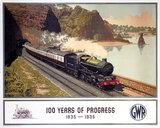 '100 Years of Progress, 1835-1935', GWR poster, 1935.