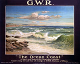 'The Ocean Coast', GWR poster, 1923-1947.