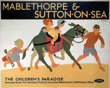 'Mablethorpe & Sutton-on-Sea', LNER poster, 1923-1947.
