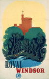 'Royal Windsor', GWR poster, 1935.