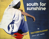 'South for Sunshine', SR poster, 1933.