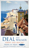 'Deal and Walmer', BR (SR) poster, 1952.