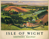 'Isle of Wight',SR poster, 1946.