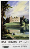 'Linlithgow Palace', BR (ScR) poster, 1963.