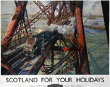'Scotland For Your Holidays', BR poster, 1952.